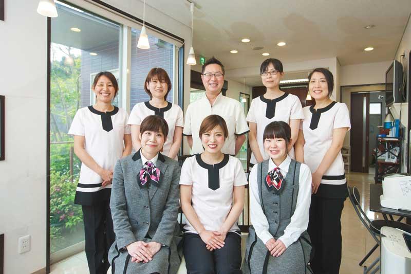 スタッフのチームワークの良さも◎ 笑顔を絶やさない対応を心がけているそう