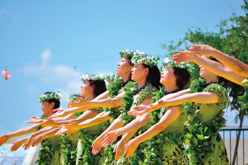 フラっとハワイアンフェスティバルin OBAMA
