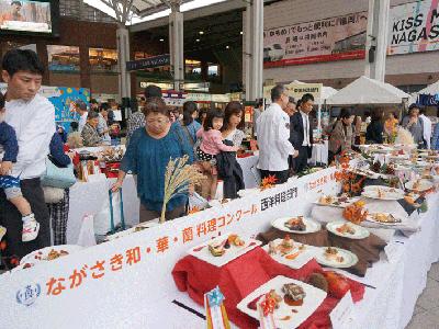 長崎「食」の博覧会がJR長崎駅かもめ広場にて開催!