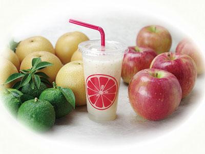 ハンザキ柚子とリンゴとナシ 美味しいコラボレーションを堪能あれ