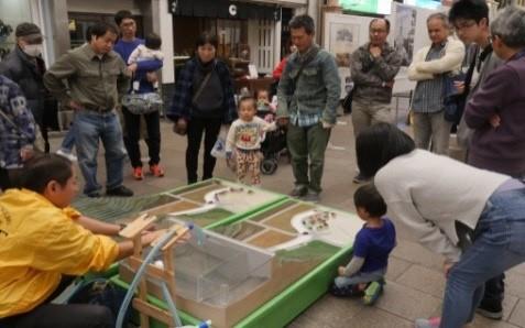 毎年恒例 浜町土木パネル・模型展