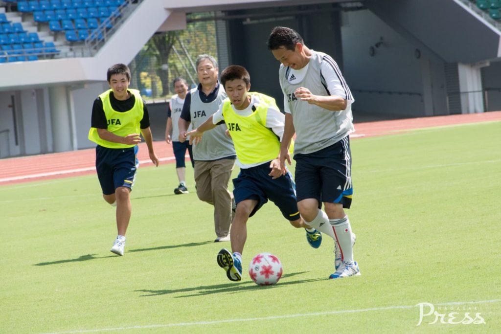 【第3回きらめきカップ】<br>オープン戦・サッカー教室