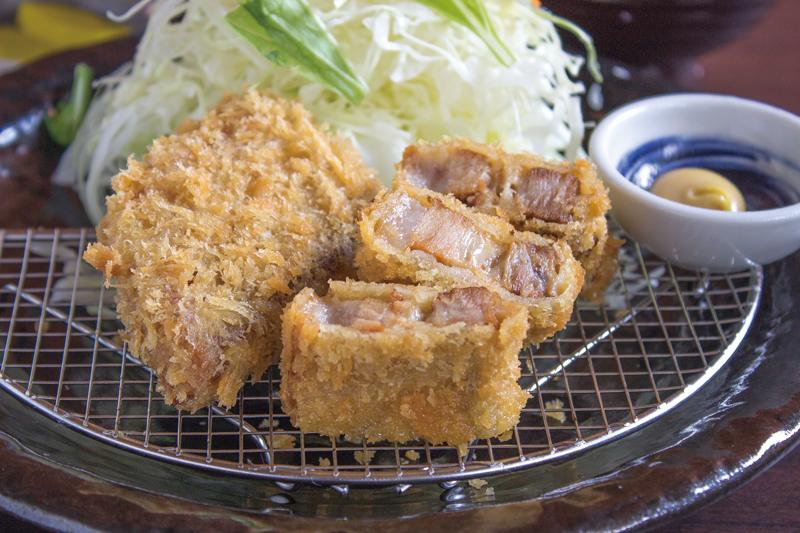 「長崎角煮かつ」ご飯、味噌汁付き950円