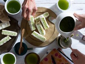 """そのぎ茶と玄米の新しい出会いを """"クロスワッフル""""で味わおう!"""