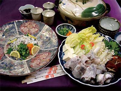 長崎県が養殖生産量全国一位の トラフグを心ゆくまで満喫!