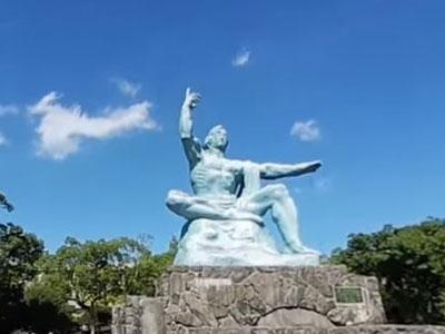 360°カメラで長崎の観光名所を撮影
