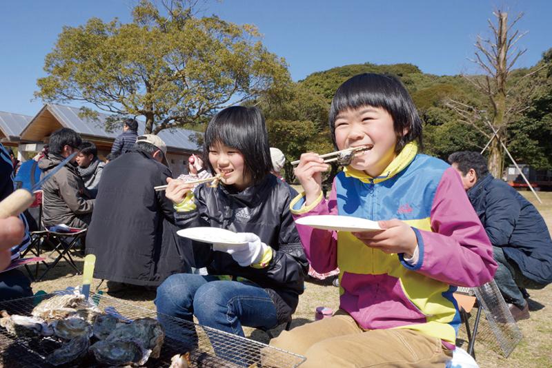 第17回 九十九島かき食うカキ祭り・冬の陣
