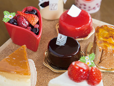 【DOT'S! By STRAWBERRY STYLE】STRAWBERRY STYLE 3号店がオープン 思わずうっとりするスイーツ