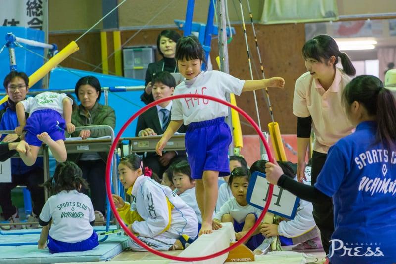 【第13回諫早カップ体操競技選手権】<br>競技(年少少~年中)・表彰式