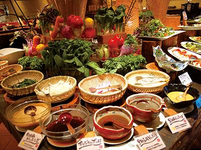 """体にやさしい自然食ブッフェレストラン 美味しく""""健康""""を食べよう!"""