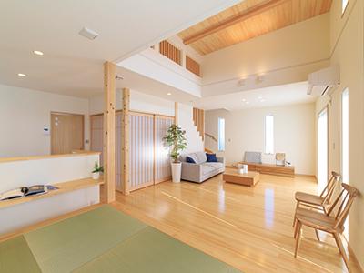 アイデア満載、木づくりの家を体感! モデルハウス見学会開催