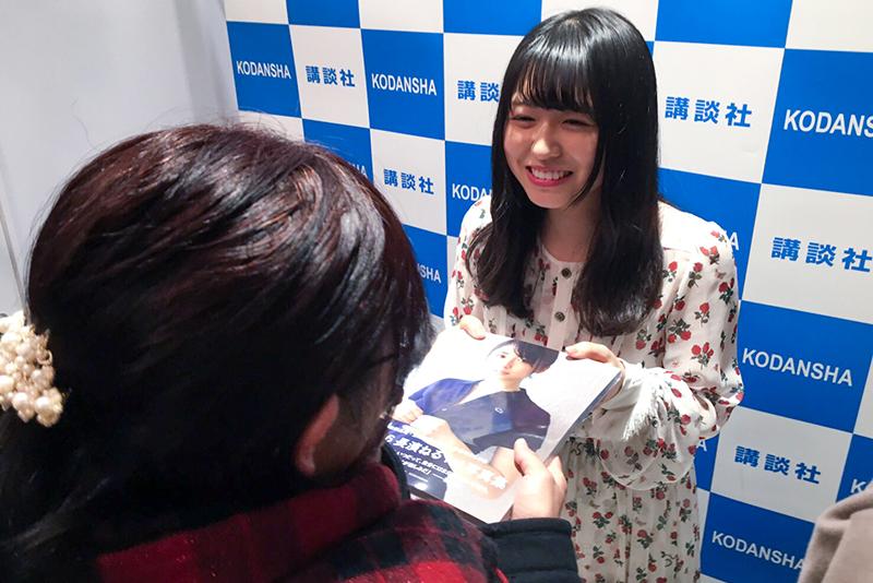 長濱ねる1st写真集『ここから』イベントリポート