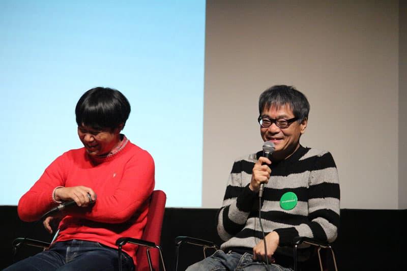 イベント後、山田監督といとうせいこうさんに、この映画についてのお話を聞くことができました