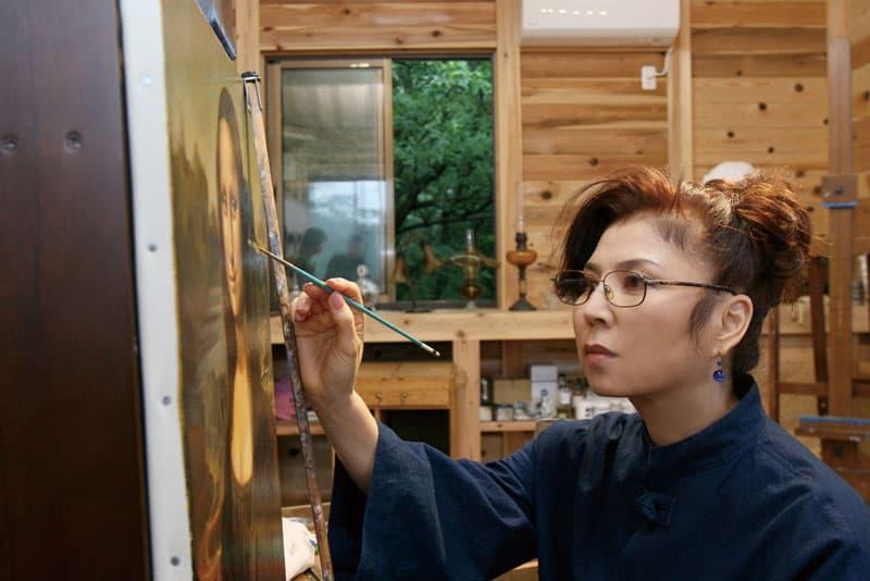 八代亜紀 アートの世界