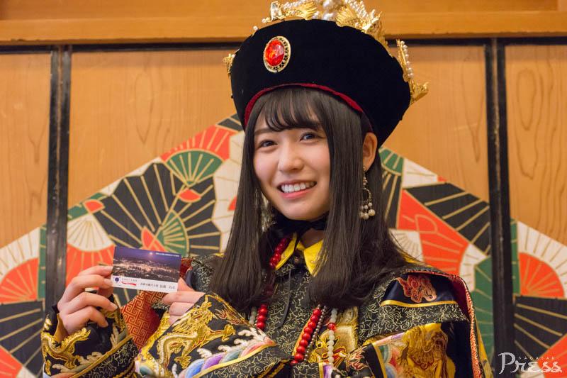 2018.2.24 欅坂46の長濱ねるさん、<br>長崎市観光大使に就任!