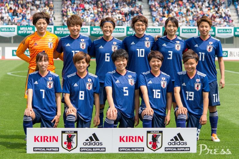 2018.4.1 MS&ADカップ2018<br>なでしこジャパン×ガーナ女子代表<br>マッチリポート