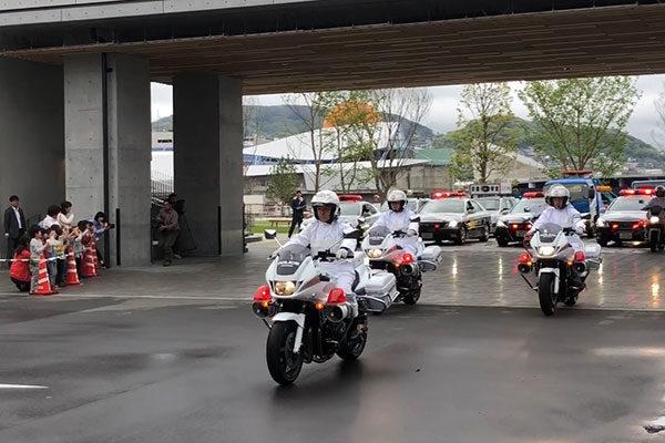 「春の全国交通安全運動」がスタート。 長崎県庁エントランスロビーで出動式