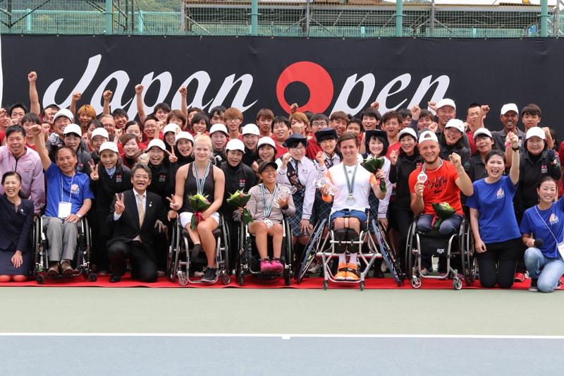 第34回飯塚国際車いすテニス大会<br>(JAPAN OPEN 2018)