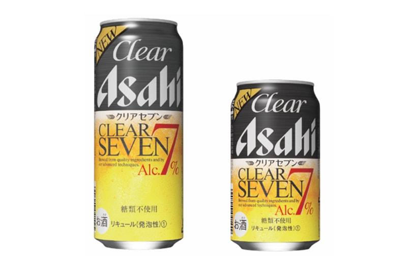 """""""本当においしい、アルコール7%""""を実現<br>「クリアアサヒ クリアセブン」が新登場!"""