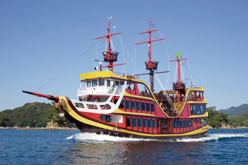 「九十九島海賊遊覧船みらい」から<br>あなたは脱出できるか!?