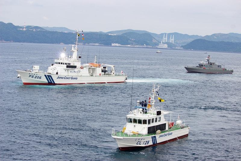 【長崎海上保安部情報】<br>巡視船「でじま」 体験航海<br>海上保安制度創設70周年記念