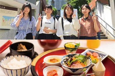 長崎純心大学生のモーニングさるく&セトレ和華蘭朝食