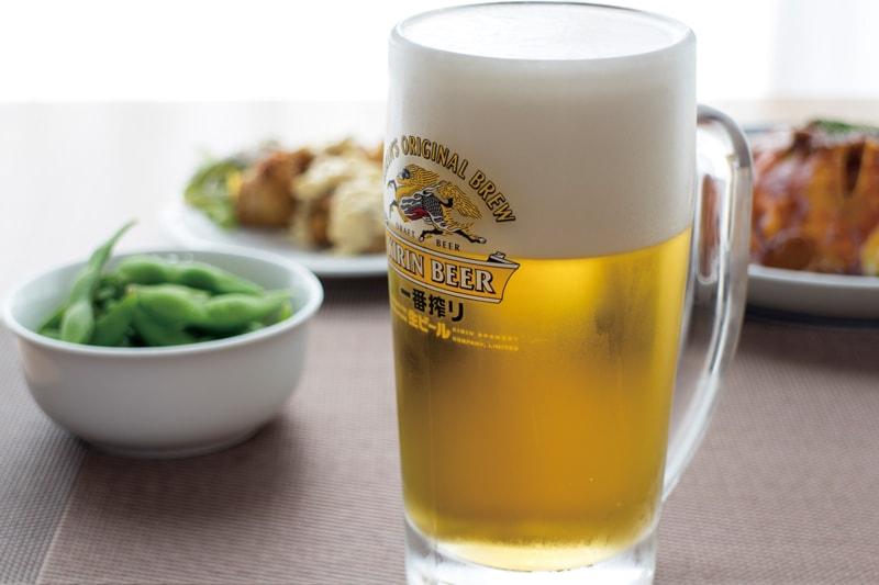 波佐見町の自然豊かな田園に囲まれて 生ビールと合う一品料理を堪能
