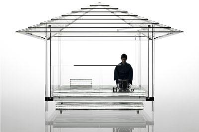 吉岡徳仁 ガラスの茶室―光庵