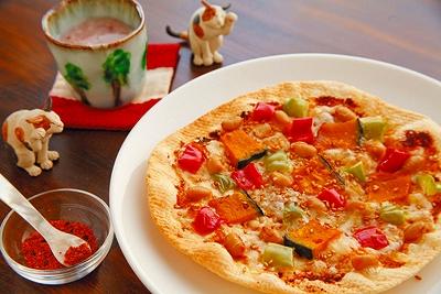 haru pizzaのピザ