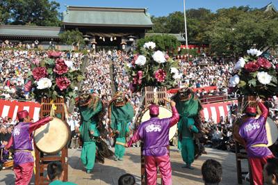 長崎くんち2019- 踊町:玉園町(獅子踊)