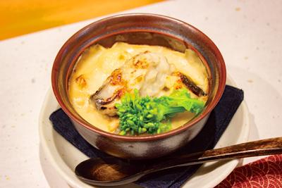 長崎和食 惣重の牡蠣グラタン
