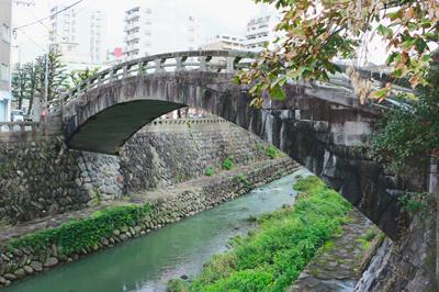 〈中島川石橋群vol.1〉今回は観光気分にハシ休め! 中島川石橋群のおはなし。
