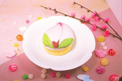 長崎県長崎市栄町6-15 異人堂 春の節句 伝統菓子 春のお菓子 桃カステラ