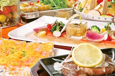長崎県長崎市尾上町1-1アミュプラザ長崎5F ブッフェレストラン 食彩健美 野の葡萄