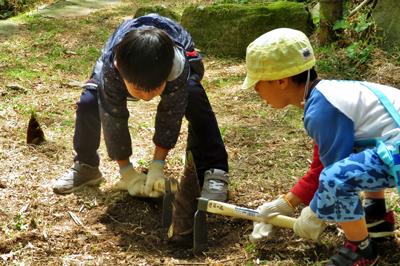 【中止】〈ながさき県民の森〉親子でタケノコ掘り体験 2020/4/11(土)