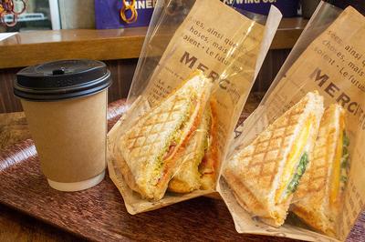 【テイクアウト・マスク情報】〈Deli Cafe Usagi〉のこだわりのホットサンドをテイクアウト!