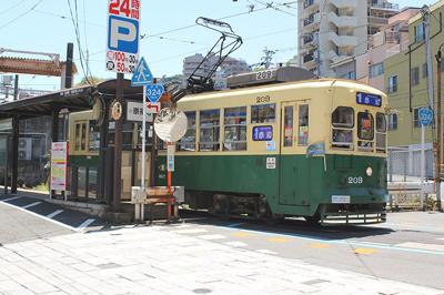 〈長崎の路面電車vol.2〉「路面電車」に乗って長崎のまちをぐるり!その①