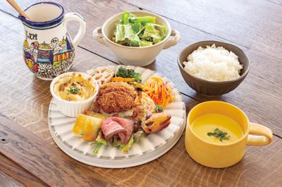 長崎県諫早市高城町8-17 cafe topor store カフェの料理