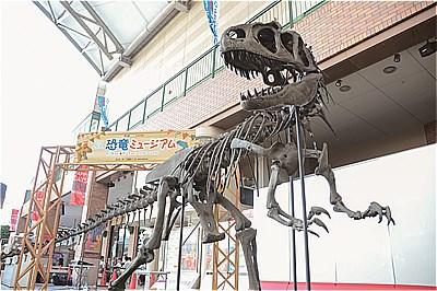 〈アミュプラザ長崎〉20周年記念イベント 「ながさき恐竜ミュージアム」開催中!