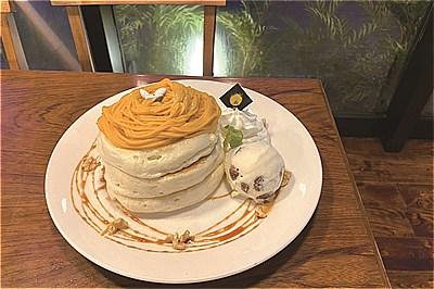 〈諫早市〉食欲の秋にオススメ! かぼちゃを感じる期間限定パンケーキが登場