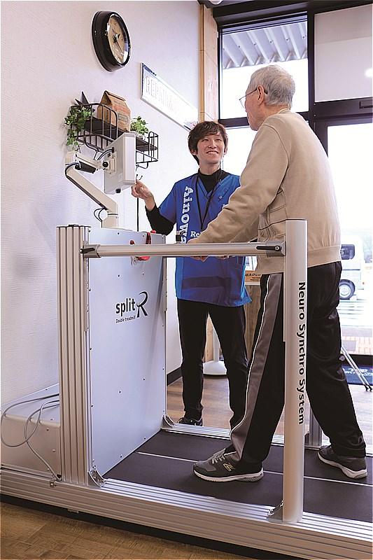 〈諫早市〉長崎で先駆けて導入された 新型リハビリ歩行マシン!